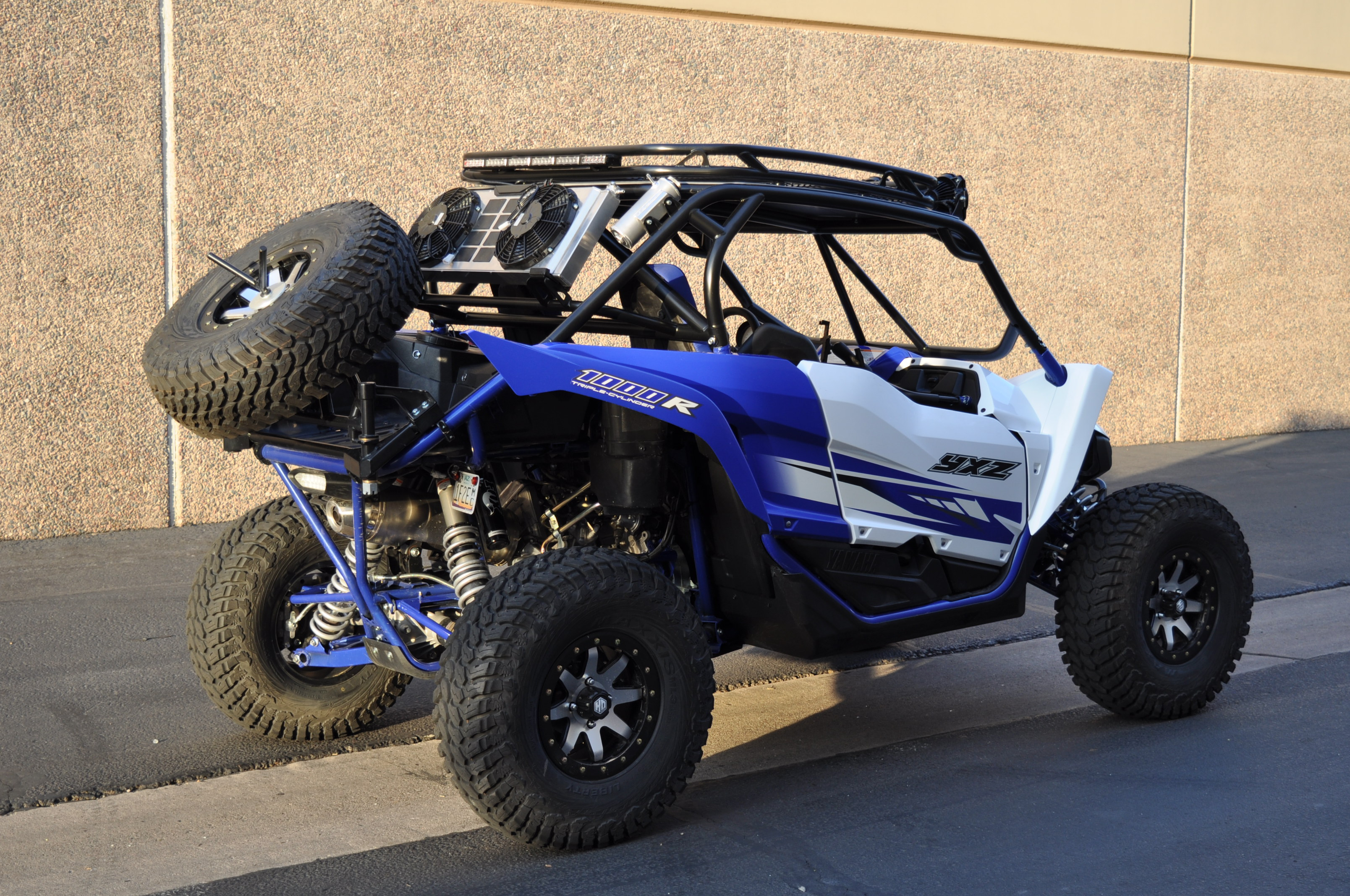 Yamaha Yxz 1000r Mid Sport Cage With Roof Rack And Rad