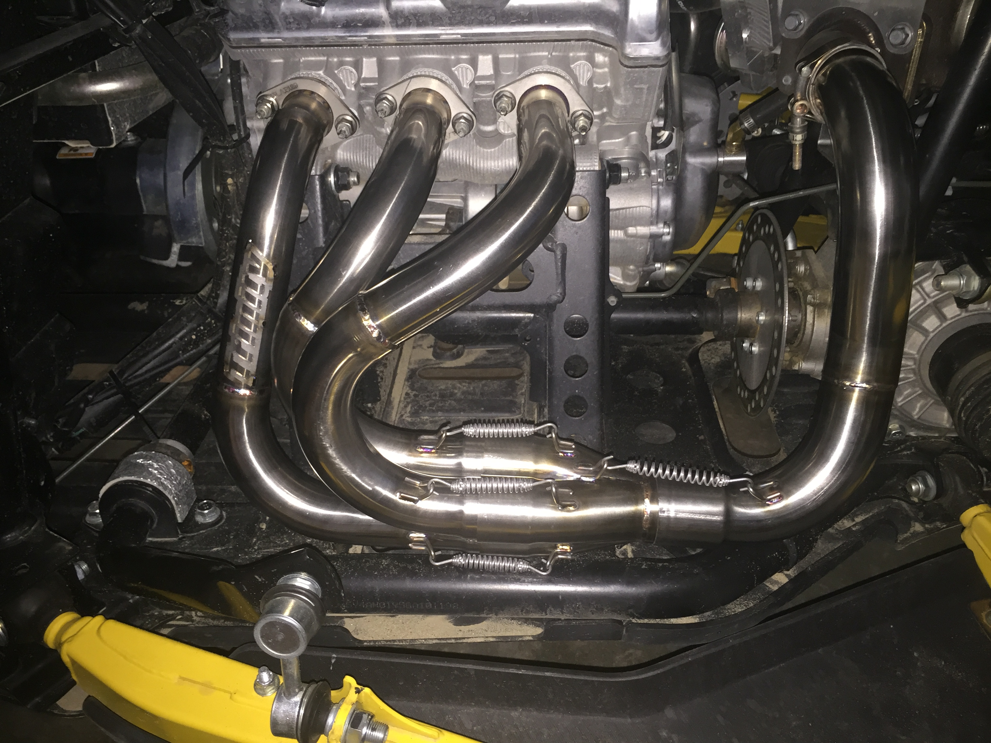 Trinity racing MPI muffler | Yamaha YXZ Forums