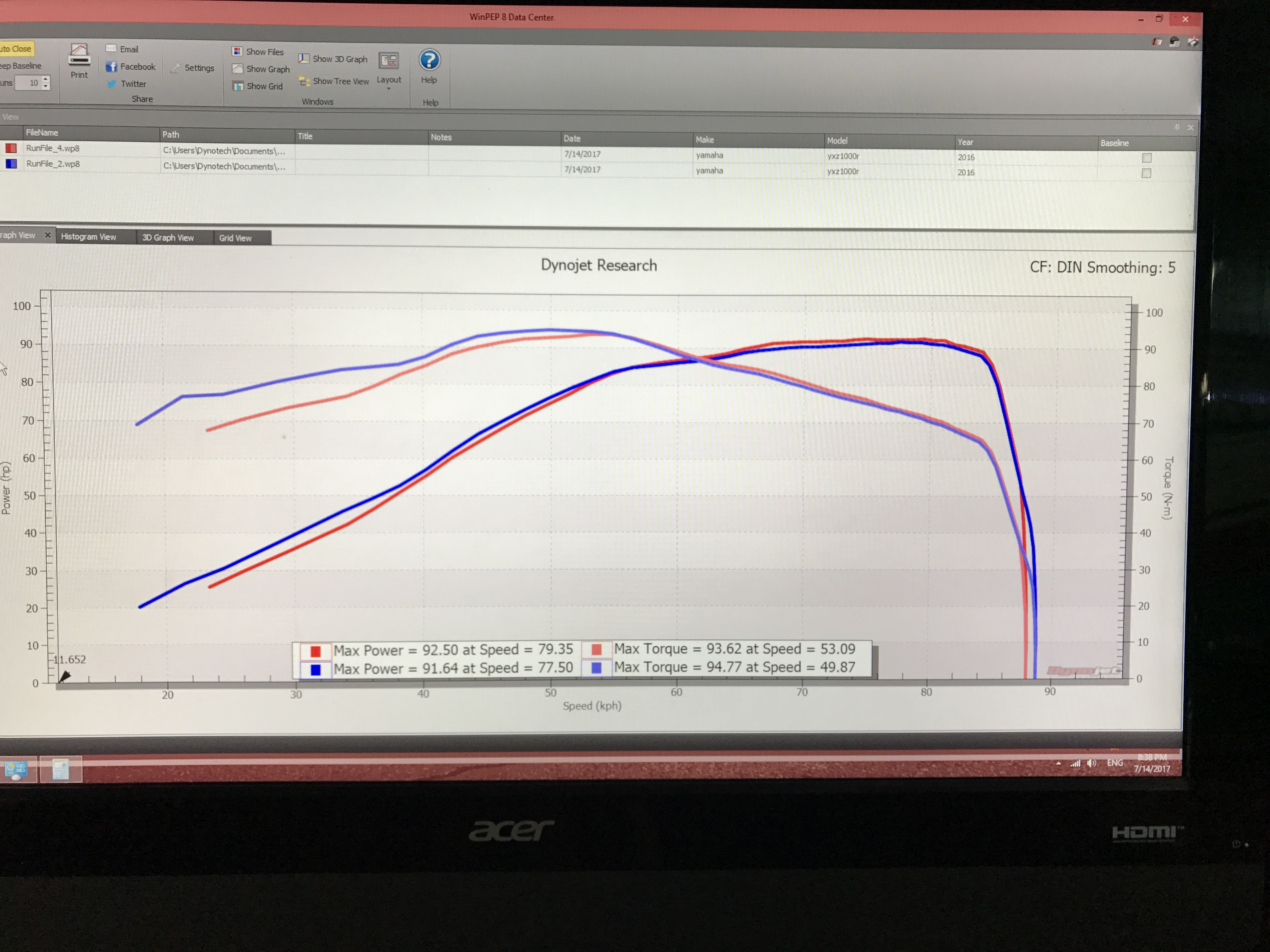Flash tune bench tuner for the YXZ   Page 2   Yamaha YXZ Forums