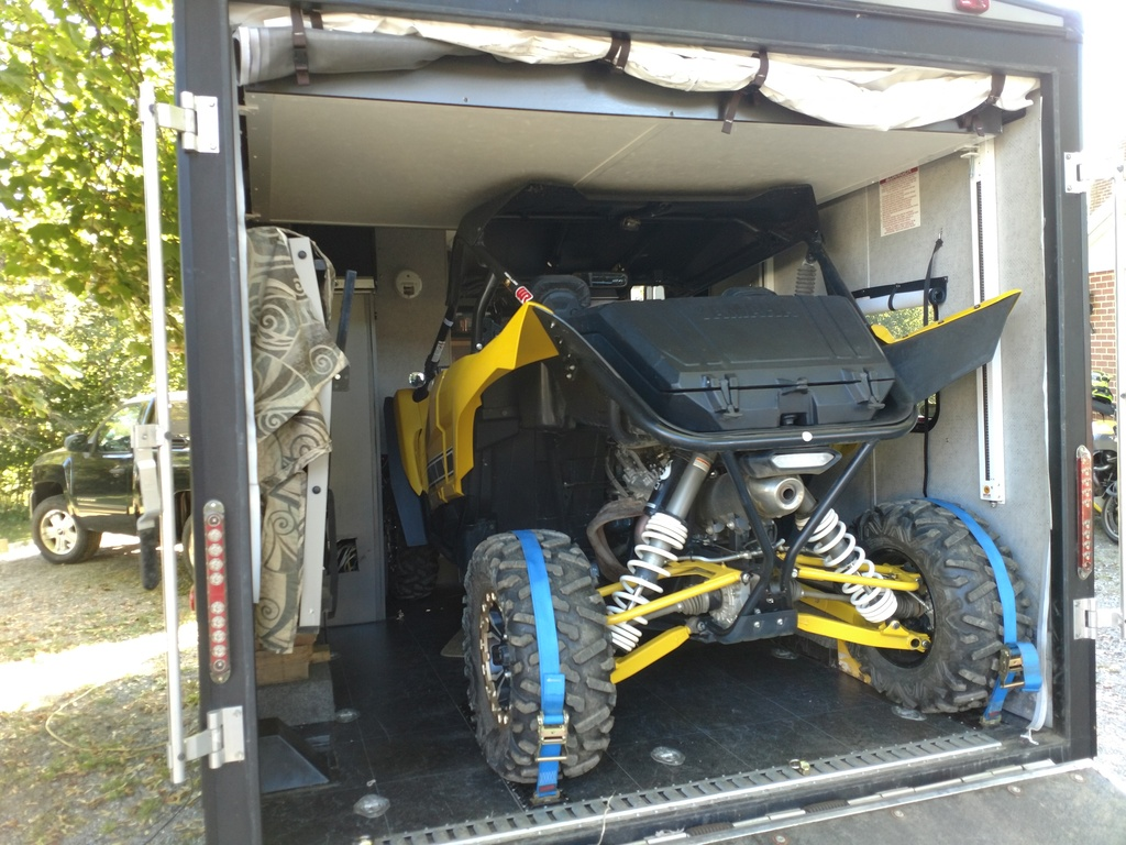 Trailering your YXZ how do you tie down? | Page 2 | Yamaha