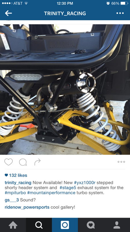 Trinity Racing makes a sweet Header and for the MPI Turbo