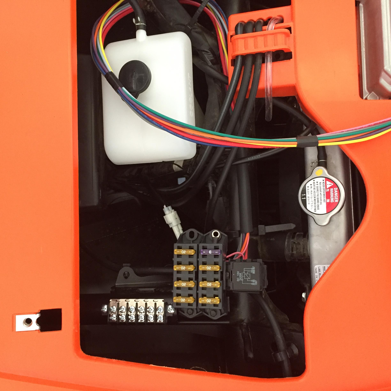 Waterproof fuse box weatherproof automotive