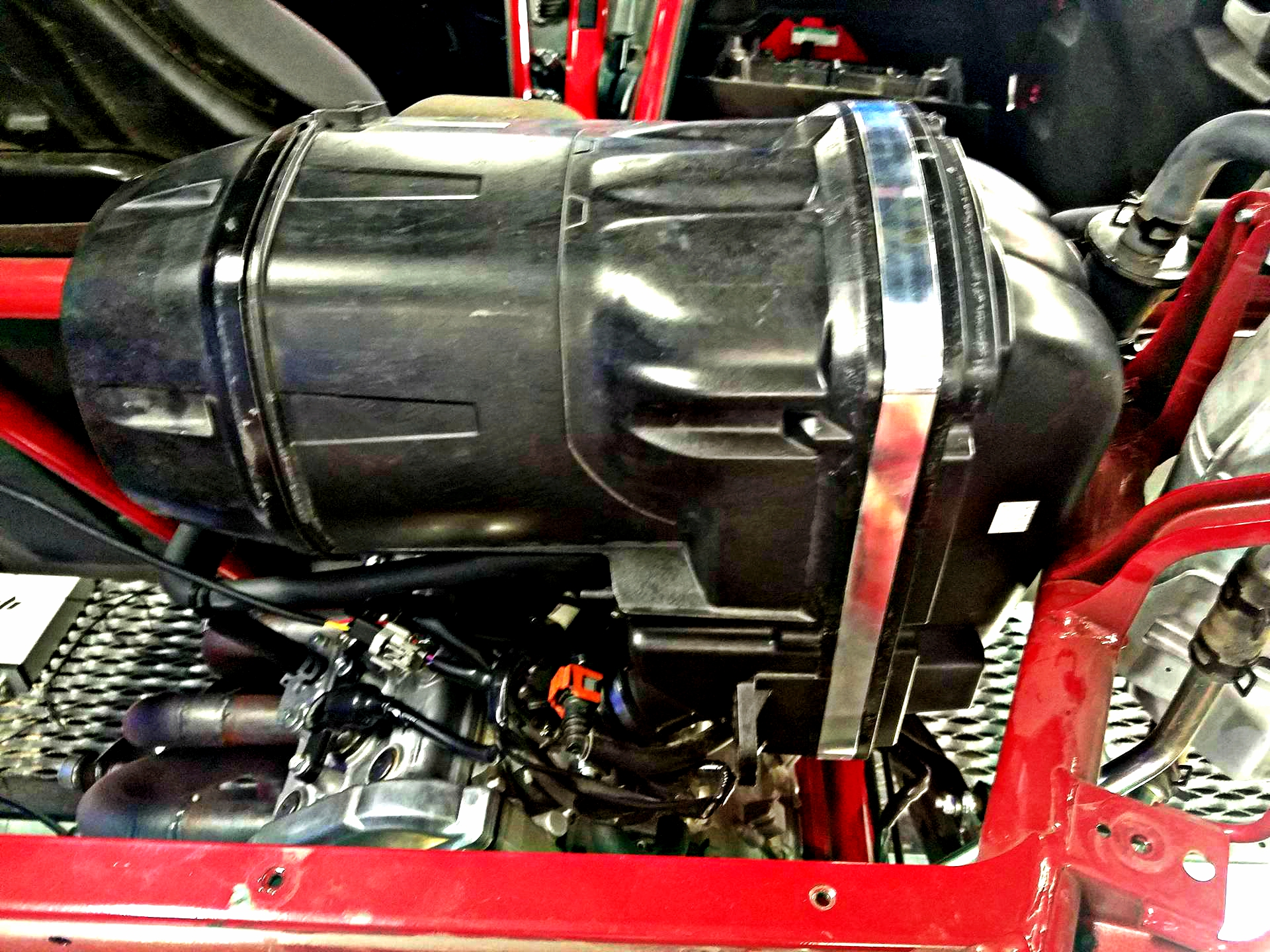 Alba Racing Billet Intake Spacer!!!