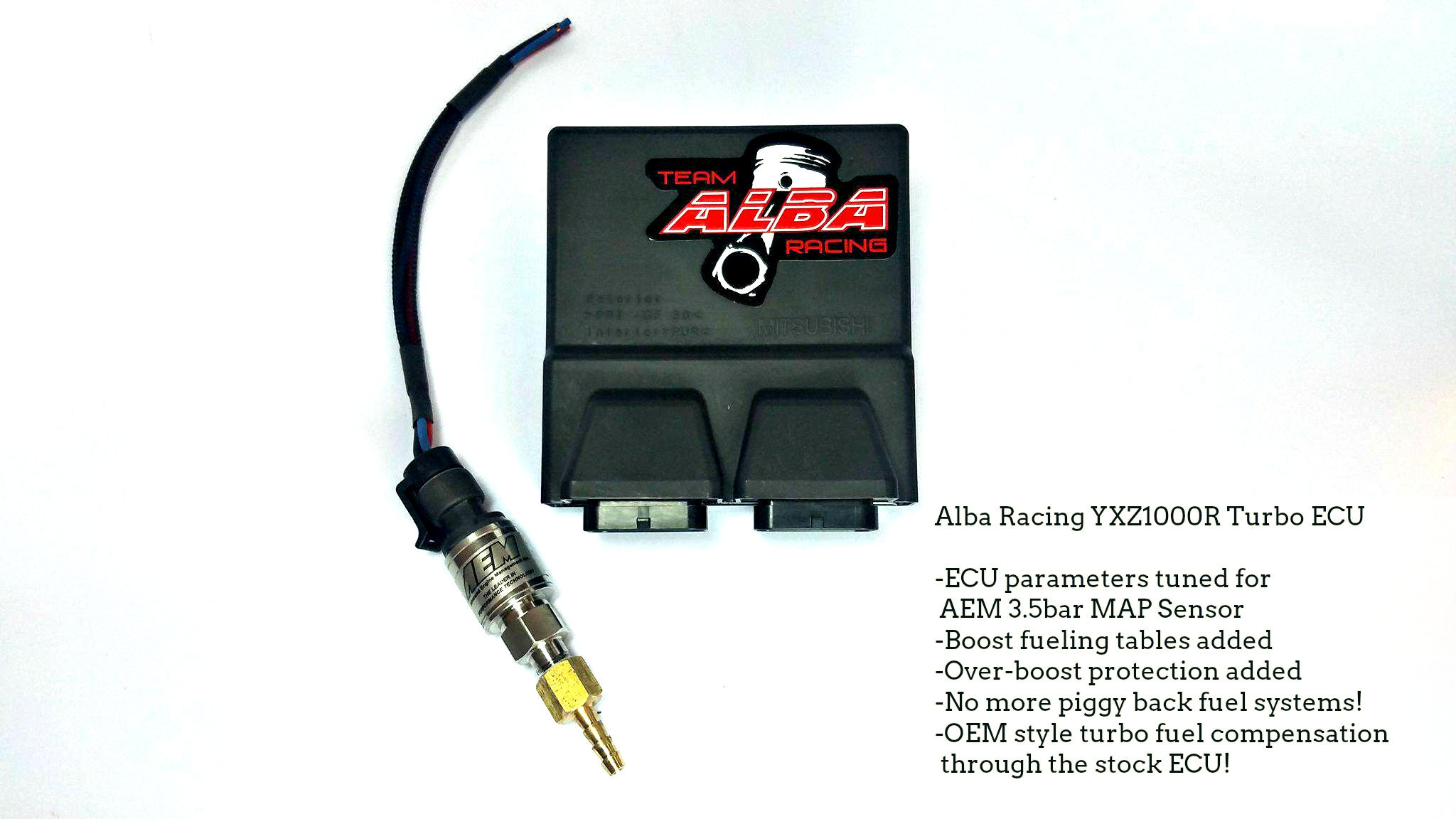 Alba Racing 3 5bar OEM ECU Turbo flash! | Yamaha YXZ Forums